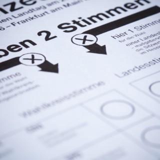 Auflage Wählerliste und Wahlservice
