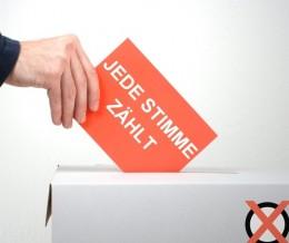 Wahlkarten und Wahl-SelfService
